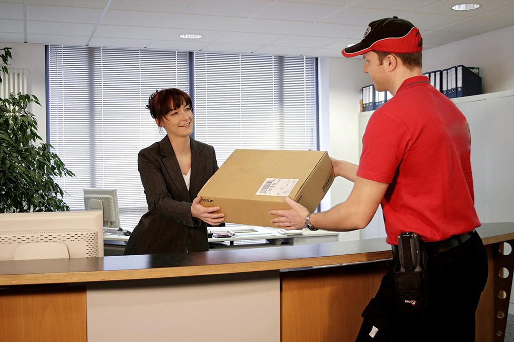 Why is courier service popular